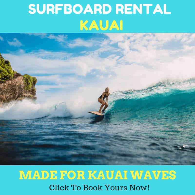 surfboard rental kapaa kauai